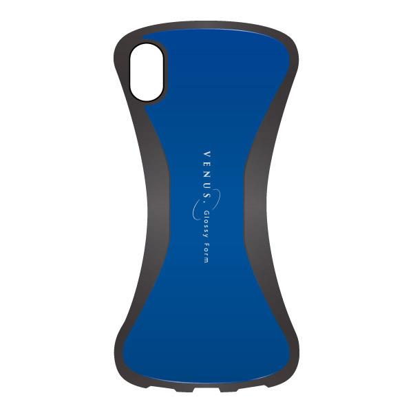 【iPhone XRケース】VENUS 背面ケース ブルー iPhone XR_0