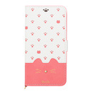 Minette PUレザー手帳型ケース ピンク iPhone XR