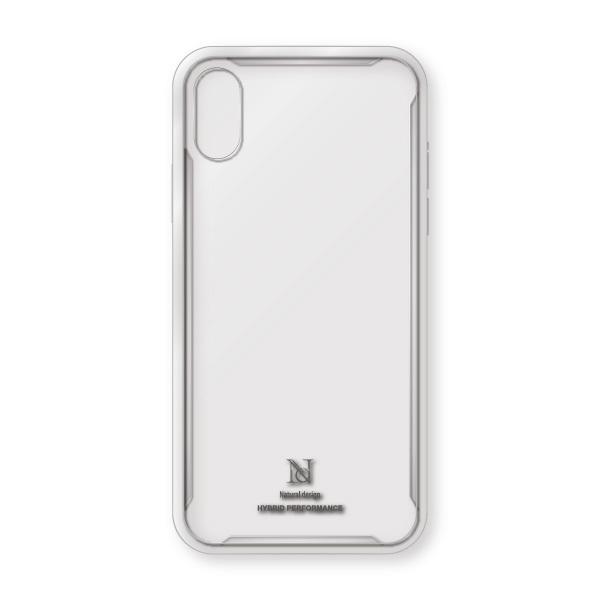 iPhone XS/X ケース HYBRID PERFORMANCE 背面ケース クリア iPhone XS/X_0