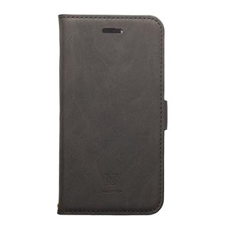 Style Natural PUレザー手帳型ケース  ブラック iPhone XR