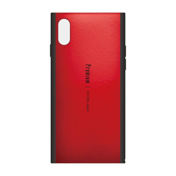 iPhone XS/X ケース Premium 背面ケース  レッド iPhone XS/X_0