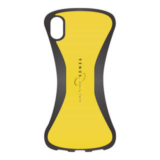 VENUS 背面ケース イエロー iPhone XR