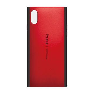 Premium 背面ケース  レッド iPhone XS
