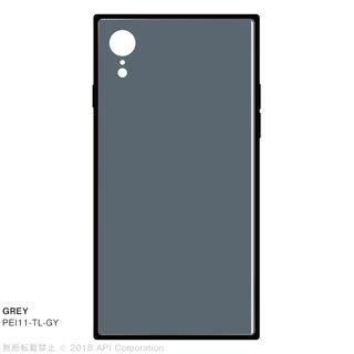 iPhone XR ケース EYLE TILE iPhone背面ケース グレイ iPhone XR