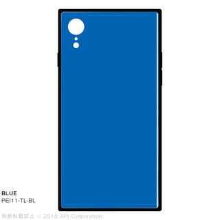 iPhone XR ケース EYLE TILE iPhone背面ケース ブルー iPhone XR