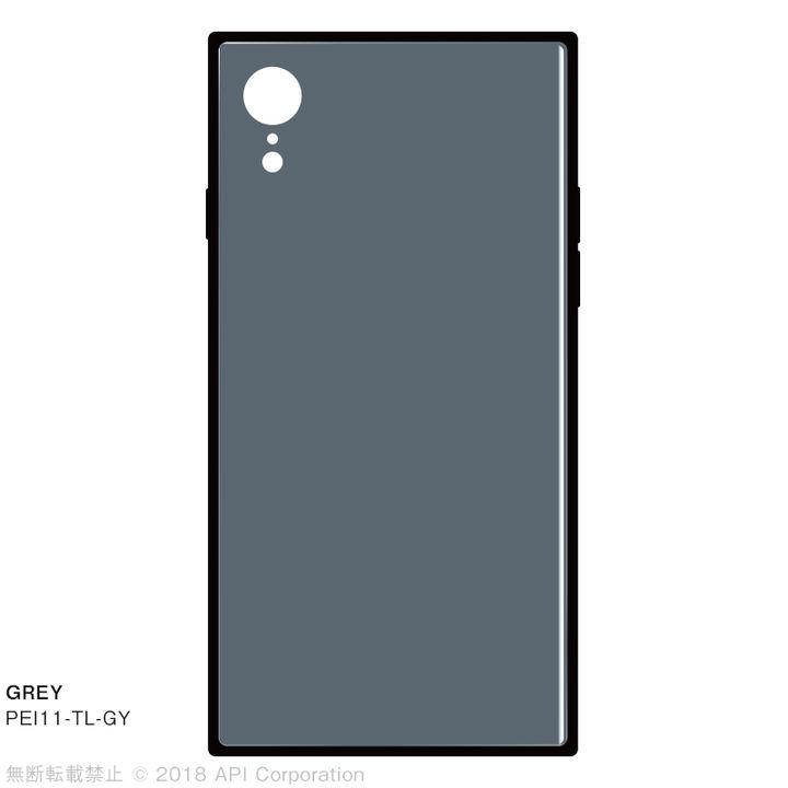 iPhone XR ケース EYLE TILE iPhone背面ケース グレイ iPhone XR_0