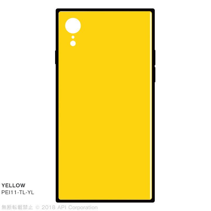 iPhone XR ケース EYLE TILE iPhone背面ケース イエロー iPhone XR_0