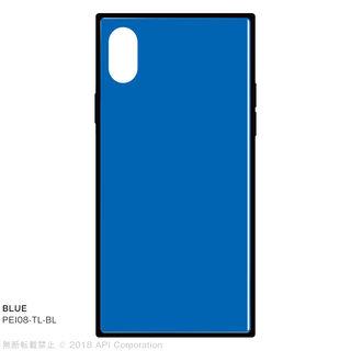 EYLE TILE iPhone背面ケース ブルー iPhone XS/X