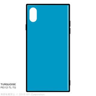 【iPhone XS Maxケース】EYLE TILE iPhone背面ケース ターコイズ iPhone XS Max