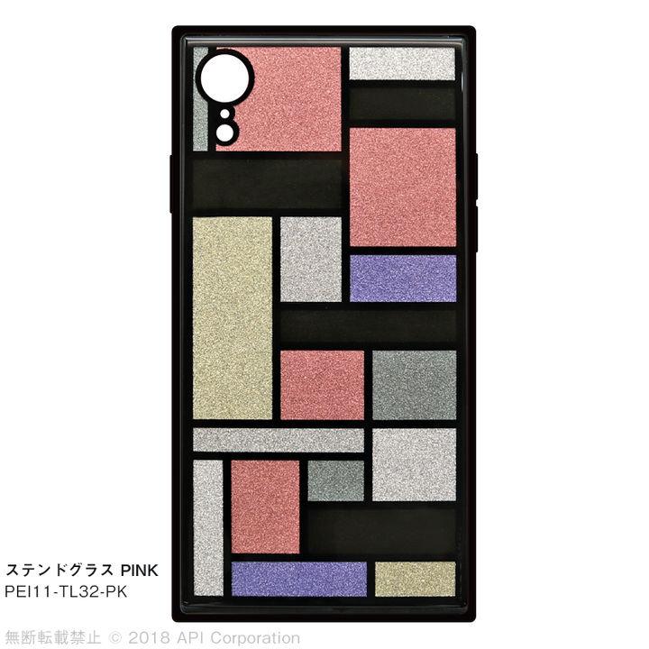 iPhone XR ケース EYLE TILE iPhone背面ケース ステンドグラス ピンク iPhone XR_0