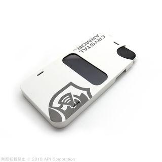 【iPhone XS Maxフィルム】クリスタルアーマー 抗菌耐衝撃ガラス アンチグレアブルーライトカット 0.28mm iPhone XS Max_2