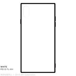 iPhone XS Max ケース EYLE TILE iPhone背面ケース ホワイト iPhone XS Max