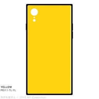iPhone XR ケース EYLE TILE iPhone背面ケース イエロー iPhone XR