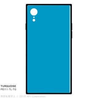 iPhone XR ケース EYLE TILE iPhone背面ケース ターコイズ iPhone XR