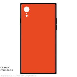 iPhone XR ケース EYLE TILE iPhone背面ケース オレンジ iPhone XR