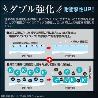 【iPhone XS Maxフィルム】クリスタルアーマー 3D耐衝撃ガラス 0.33mm iPhone XS Max_7