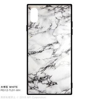 EYLE TILE iPhone背面ケース 大理石 ホワイト iPhone XS Max