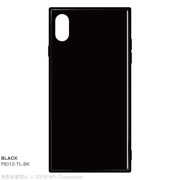 【iPhone XS Maxケース】EYLE TILE iPhone背面ケース ブラック iPhone XS Max_0