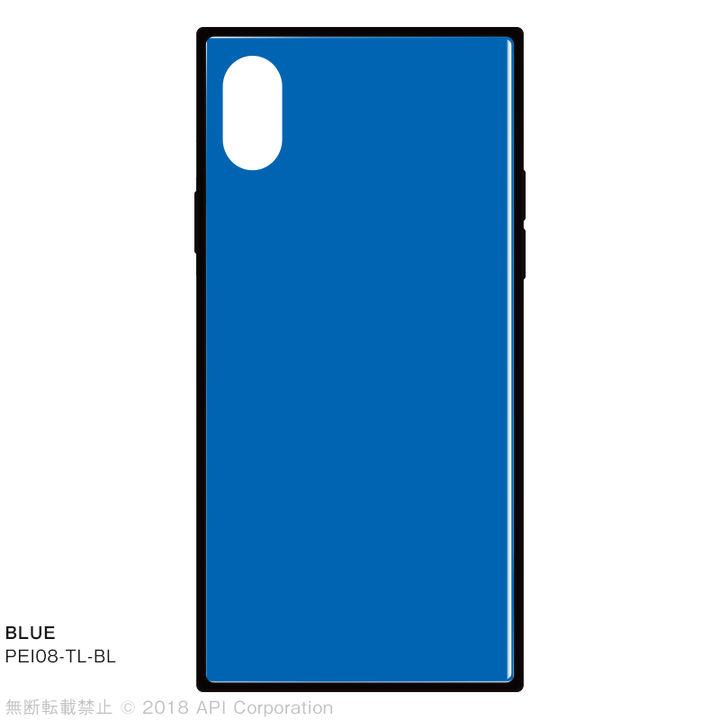 iPhone XS/X ケース EYLE TILE iPhone背面ケース ブルー iPhone XS/X_0