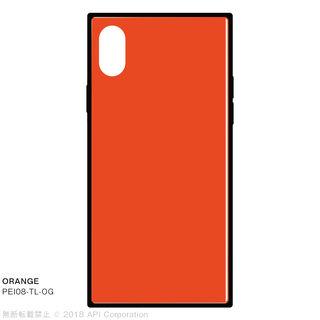 【iPhone XS/Xケース】EYLE TILE iPhone背面ケース オレンジ iPhone XS/X