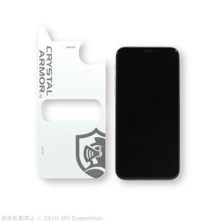 【iPhone XS Maxフィルム】クリスタルアーマー 抗菌耐衝撃ガラス アンチグレアブルーライトカット 0.28mm iPhone XS Max_3