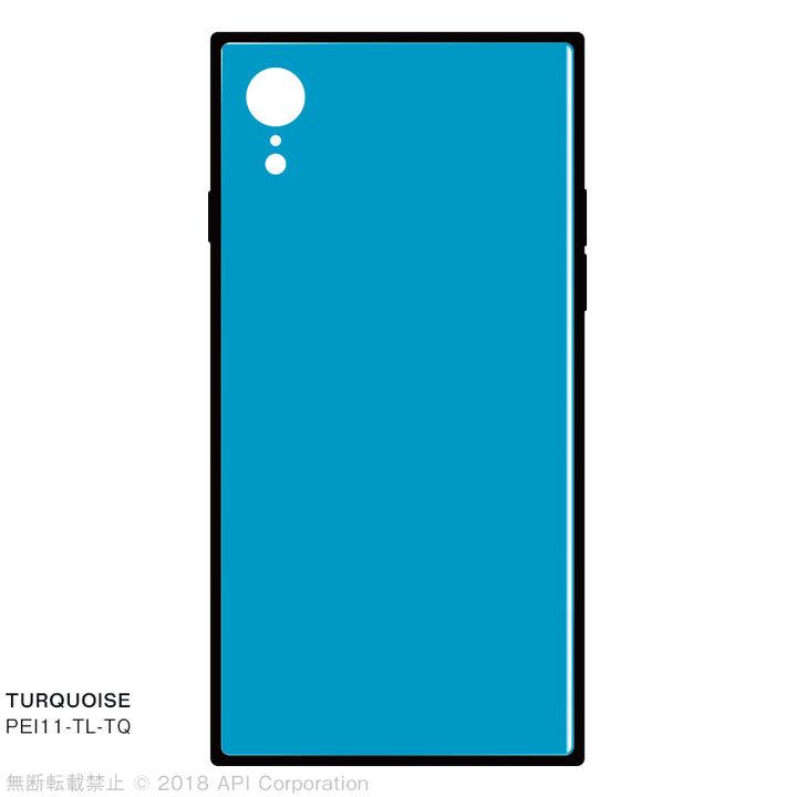 iPhone XR ケース EYLE TILE iPhone背面ケース ターコイズ iPhone XR_0