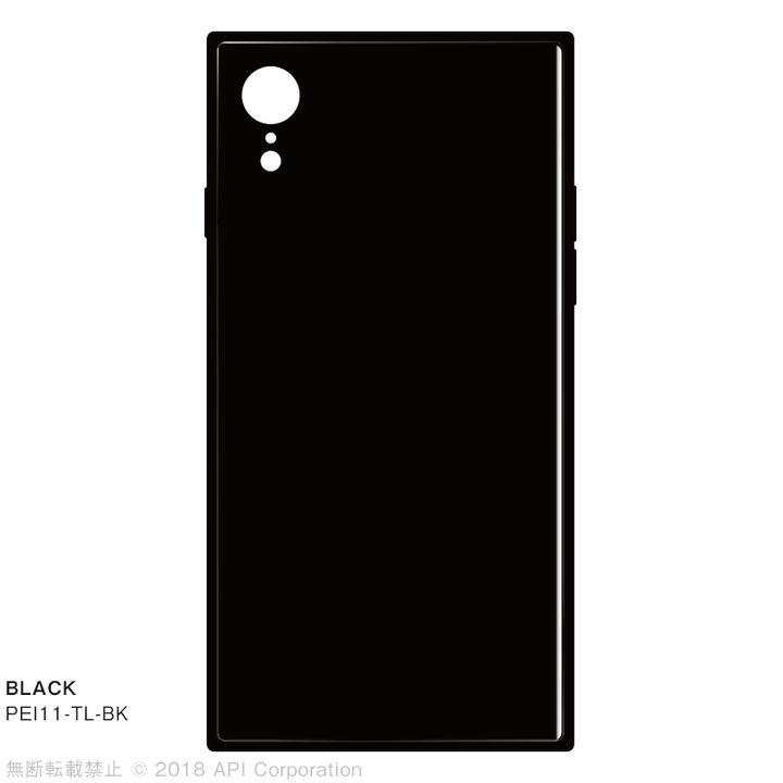 iPhone XR ケース EYLE TILE iPhone背面ケース ブラック iPhone XR_0