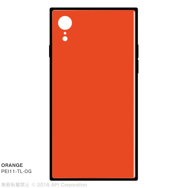 iPhone XR ケース EYLE TILE iPhone背面ケース オレンジ iPhone XR_0