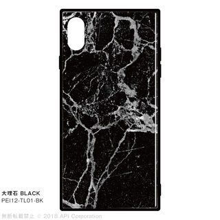 EYLE TILE iPhone背面ケース 大理石 ブラック iPhone XS Max