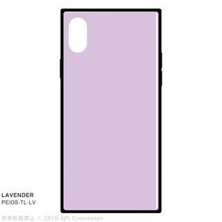 【iPhone XSケース】EYLE TILE iPhone背面ケース ラベンダー iPhone XS/X