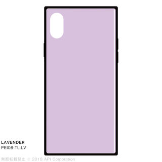 【iPhone XS/Xケース】EYLE TILE iPhone背面ケース ラベンダー iPhone XS/X