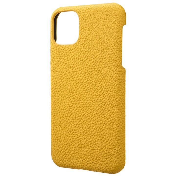 iPhone 11 Pro Max ケース GRAMAS Shrunken-calf レザー背面ケース イエロー iPhone 11 Pro Max_0