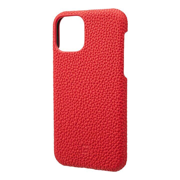 iPhone 11 Pro ケース GRAMAS Shrunken-calf レザー背面ケース レッド iPhone 11 Pro_0