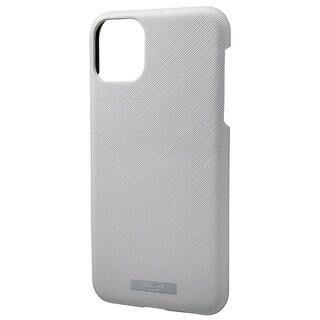 iPhone 11 Pro Max ケース GRAMAS COLORS EURO Passione シェル型PUレザーケース グレイ iPhone 11 Pro Max