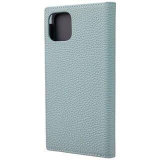 iPhone 11 Pro Max ケース GRAMAS Shrunken-calf レザー手帳型ケース ベイビーブルー iPhone 11 Pro Max