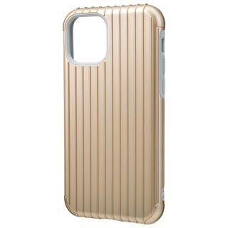 iPhone 11 Pro ケース GRAMAS COLORS Rib ハイブリッドシェルケース ゴールド iPhone 11 Pro