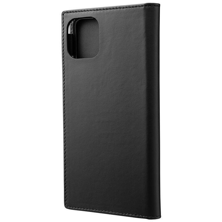 GRAMAS Genuine Leather 手帳型ケース ブラック iPhone 11 Pro Max_0