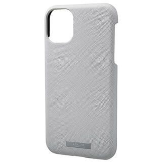iPhone 11 ケース GRAMAS COLORS EURO Passione シェル型PUレザーケース グレイ iPhone 11