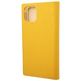 iPhone 11 ケース GRAMAS Shrunken-calf レザー手帳型ケース イエロー iPhone 11