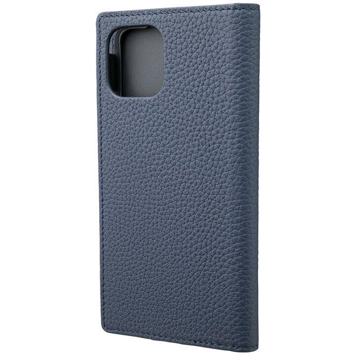 iPhone 11 Pro ケース GRAMAS Shrunken-calf レザー手帳型ケース ネイビー iPhone 11 Pro_0