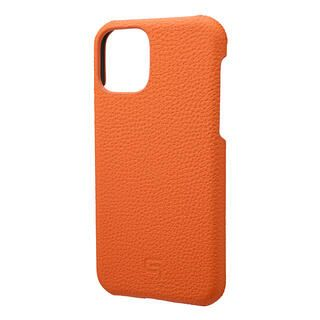 iPhone 11 Pro ケース GRAMAS Shrunken-calf レザー背面ケース オレンジ iPhone 11 Pro