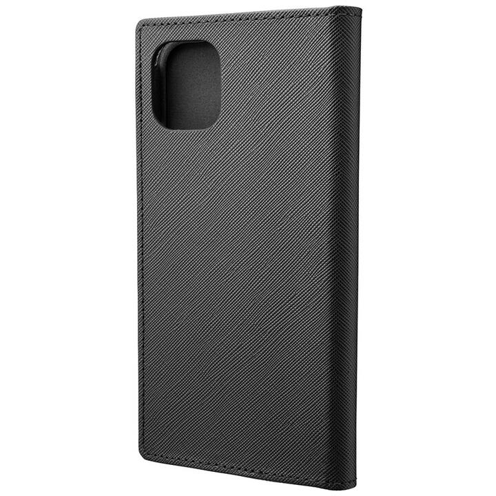 iPhone 11 ケース GRAMAS COLORS EURO Passione PUレザー手帳型ケース ブラック iPhone 11_0