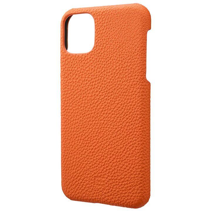 iPhone 11 Pro Max ケース GRAMAS Shrunken-calf レザー背面ケース オレンジ iPhone 11 Pro Max_0