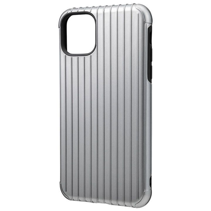 iPhone 11 Pro Max ケース GRAMAS COLORS Rib ハイブリッドシェルケース グレイ iPhone 11 Pro Max_0