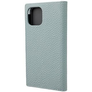 iPhone 11 Pro ケース GRAMAS Shrunken-calf レザー手帳型ケース ベイビーブルー iPhone 11 Pro
