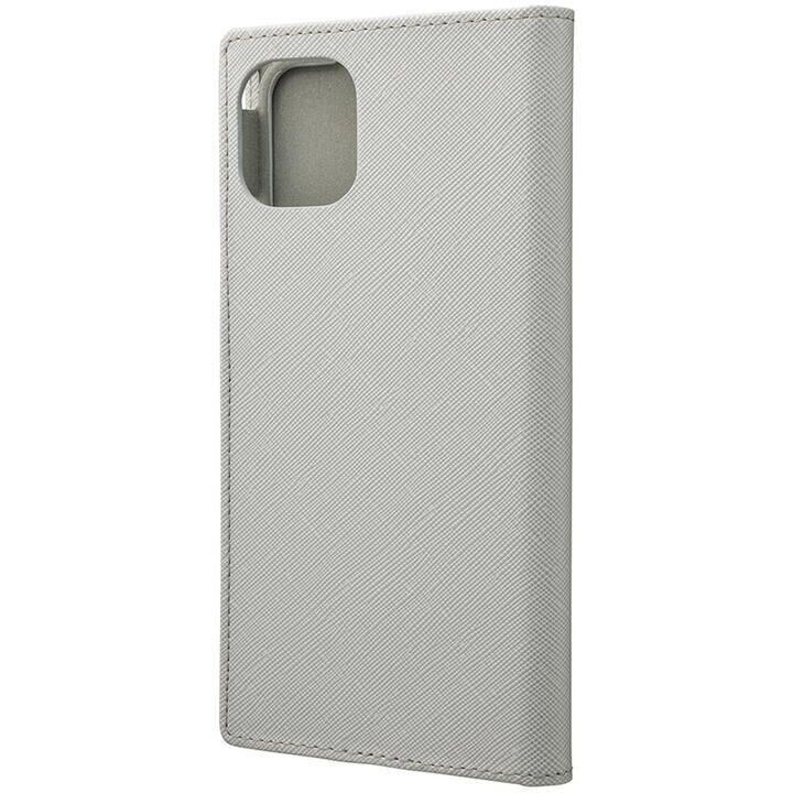 iPhone 11 Pro Max ケース GRAMAS COLORS EURO Passione PUレザー手帳型ケース グレイ iPhone 11 Pro Max_0