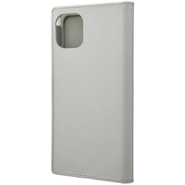 GRAMAS COLORS EURO Passione PUレザー手帳型ケース グレイ iPhone 11 Pro Max_0