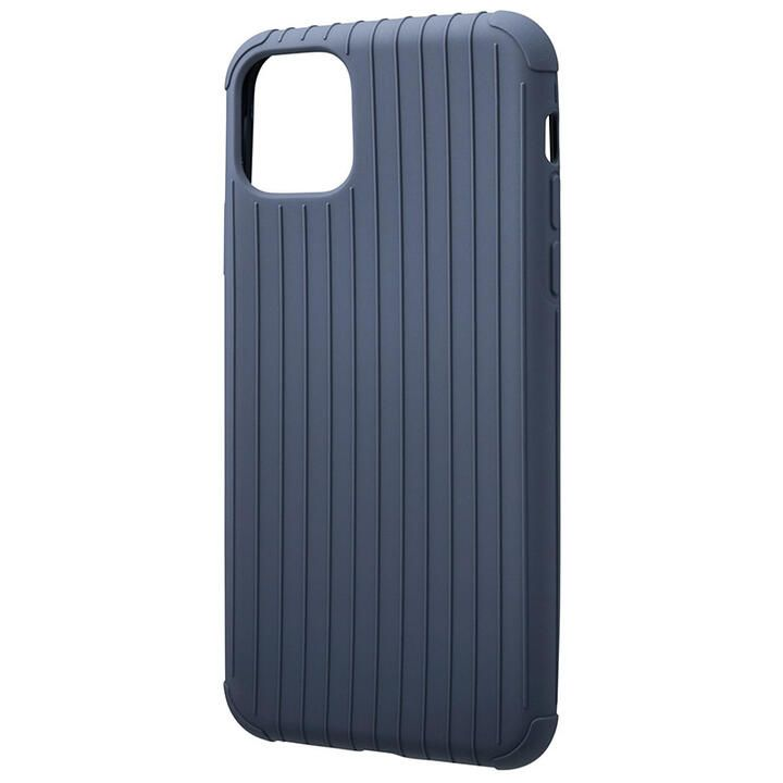 iPhone 11 Pro Max ケース GRAMAS COLORS Rib Light 耐衝撃TPUケース ネイビー iPhone 11 Pro Max_0