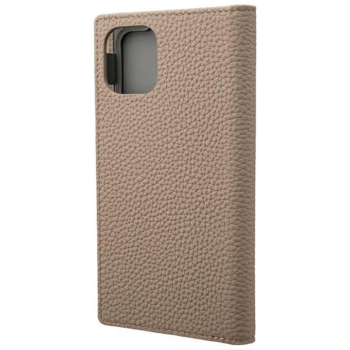 iPhone 11 ケース GRAMAS Shrunken-calf レザー手帳型ケース トープ iPhone 11_0