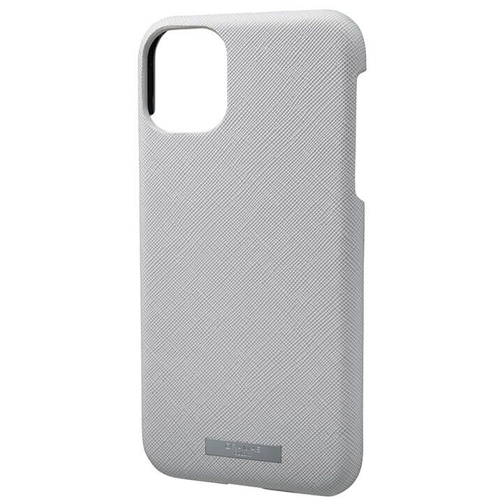 iPhone 11 ケース GRAMAS COLORS EURO Passione シェル型PUレザーケース グレイ iPhone 11_0